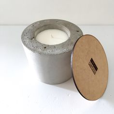 Concrete CANDLE (SPICE DEEP MUSK TOBACCO LAYERED WITH A HINT OF COFFEE AND FLORAL FRAGRANCE) Soy Wax Candles, Candle Wax, Concrete, Spice, Fragrance, Deep, Coffee, Floral, Kaffee