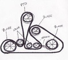 John Deere Lt166 Belt Diagram Replacing Mower Drive Belt