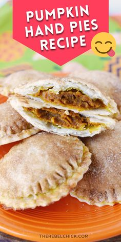 Oh, man! You have the perfect little Pumpkin pie in the palm of your hand with this Pumpkin Hand Pies Recipe! Or if you prefer more crust to pumpkin ratio, this is perfect for you!