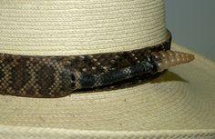 b5deee2beae Diamond back snake hat bands