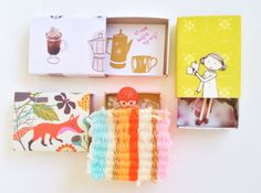 Pinterest DIY: mix and matchboxes www.wimketolsma.nl