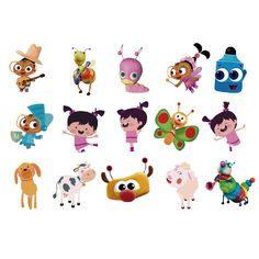 Baby TV | Toppers Personalizados para Cupcakes - Las Madrinas Eventos Nursery Rhyme Party, Nursery Rhymes, Baby Birthday Themes, 2nd Birthday, Baby Tv Cake, Image Fun, Fancy Nancy, Baby Shower, 1st Birthdays
