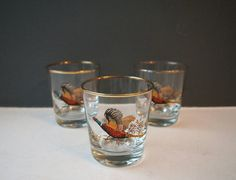Check out this item in my Etsy shop https://www.etsy.com/uk/listing/484420298/vintage-whisky-tumbler-glass-set