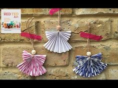 Paper Angel Ornament DIY - Red Ted Art's Blog