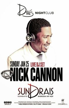 Anew Productions: Nick Cannon@DRAIS ROOFTOP NIGHTCLUB Las Vegas, NV ...