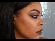 (Rihanna Vibes) Affordable/ Drugstore Full Face Makeup Tutorial | Crystal Carmen 2016 - YouTube