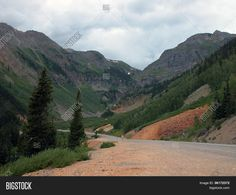 This road meanders through the mountains between Durango and Silverton, Colorado. ©Photo copyright by Marty Nelson. Photographer website: http://www.bigstockphoto.com/search/?start=300&contributor=Marty+Nelson+Photo+Art&safesearch=n