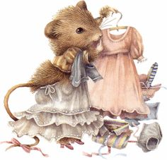 Marjolein Bastin illustration - vera the mouse, vera la souris. Illustration Mignonne, Art Mignon, Marjolein Bastin, Motifs Animal, Nature Artists, Dibujos Cute, Cute Mouse, Dutch Artists, Beatrix Potter