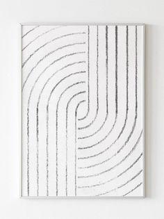 Mid century modern Printable wall art Black white print | Etsy Diy Canvas Art, Diy Wall Art, Diy Art, Modern Prints, Mid-century Modern, Art Prints, Modern Wall Art, Mid Century Art, Mid Century Modern Art