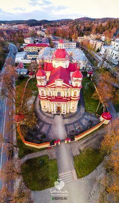 Šv. apaštalų Petro ir Povilo bažnyčia  #Vilnius  We love Lithuania - Photo by: Martynas Charevičius