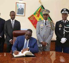 Le président  Sall a procédé hier à un important changement de postes dans l'armée