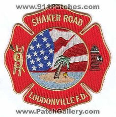 Loudonville Fire Department Dept LFD Rescue EMS Shaker Road 9 Patch New York NY