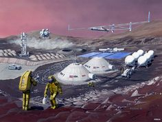 Space Future: The Future Of Mars. Elon Musk Version.