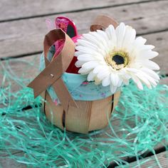 Recycled Grocery Bag Easter Basket Project Tutorial