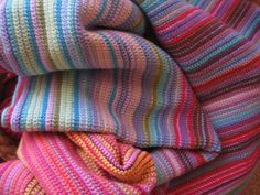 Ravelry: My Year in Temperatures -Scarf- pattern by Kristen Cooper Crochet Blanket Patterns, Baby Blanket Crochet, Crochet Stitches, Knitting Patterns, Crochet Blankets, Afghan Crochet, Baby Blankets, Knitting Ideas, Afghan Blanket