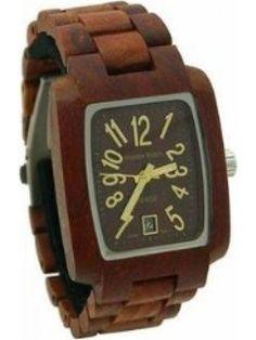 Tense Wood Sandalwood Wood Watch - Wood Bracelet - Wood Dial