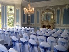 The MacMillan Room dressed for a wedding ceremony at Quirky Wedding, Unique Weddings, Real Weddings, Country Weddings, Ben And Jen, Rainbow Wedding, Offbeat Bride, Mansions Homes, Wedding Venues