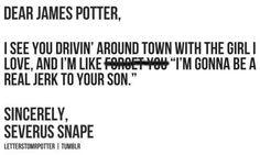 Dear Harry Potter Characters, ...