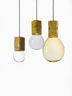 'Moulds' lights by Jan Plechac and Henry Wielgus for Lasvit