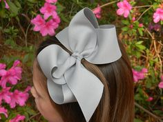 Extra Large Twisted Boutique Hair Bow Big Girls Bow Jumbo Huge You choose color Children Baby Toddler Wedding Birthday Holiday Pageant on Etsy, $8.99