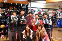 【大阪店】2014.11.18 大学のアメフト部の皆様です!素敵なプレゼントですね!また皆様で遊びにきてくださいね!