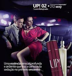 UP! 02 (essência do 212 sexy by carolina herrera) R$96,00