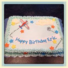 Airplane Sheet Cake