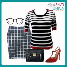 Step up in the world of fashion in this outfit.