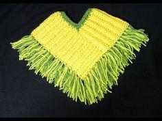 Πλεκτο Ποντσο / Crochet Poncho Tutorial - YouTube
