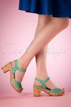 Miz Mooz Cynthia Clogs in Green 421 40 16846 03022016 005W