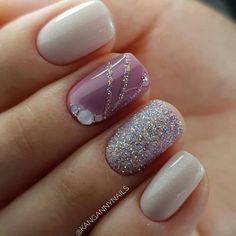 and Beautiful Nail Art Designs Short Nail Designs, Nail Art Designs, Nails Design, Cute Nails, Pretty Nails, Nailart, French Tip Nails, Rainbow Nails, Elegant Nails