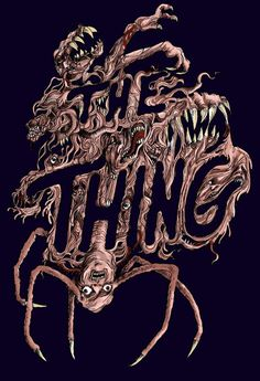 The Thing fan poster art