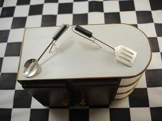 Spoon and Spatula with Slots Utensil by jewelrycollectibles