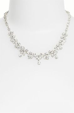 Love this Nadri Cubic Zirconia Crystal Pear Drop Necklace