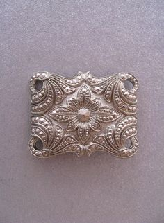 Vintage Silver Brooch by JeepersKeepers on Etsy
