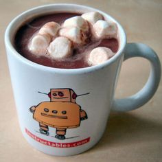 Nutella Hot Chocolate. YUUUURRRMMM!!!!!!!!!