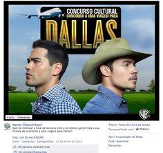 Concurso Cultural para a divulgação da nova série da Warner Channel, DALLAS.