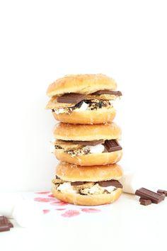 Aww, Sam: DIY S'mores Donuts