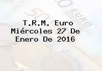 http://tecnoautos.com/wp-content/uploads/imagenes/trm-euro/thumbs/trm-euro-20160127.jpg TRM Euro Colombia, Miércoles 27 de Enero de 2016 - http://tecnoautos.com/actualidad/finanzas/trm-euro-hoy/trm-euro-colombia-miercoles-27-de-enero-de-2016/