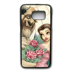 Beauty And The Beast Phone Cover Case For Samsung Galaxy S7 Edge Cell Phone Black CGD203919 -- Awesome products selected by Anna Churchill