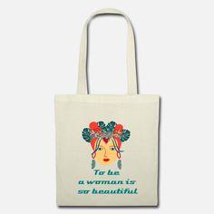 Madame exotique Stoffbeutel Madame, Reusable Tote Bags, Design, Exotic, Sachets