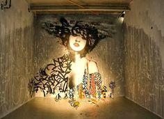 Street Art Online : Vol 15 // Hush #streetartonline #urbanartists #graffitiartists #streetartists #freewalls #graffiti #hush