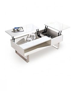 Occam-coffee-table-with-dual-lift-tops Use wood to build and could work as desk, table, etc in Tiny Home