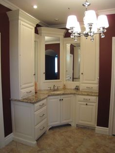Master Vanity traditional bathroom