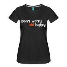 Design ski Frauen Superior T-Shirt