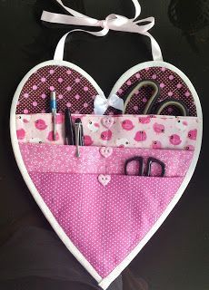Diy And Crafts Sewing, Crafts For Girls, Crafts To Sell, Sewing Projects, Projects To Try, Diy Crafts, Quilted Potholders, Craft Wedding, Organizer