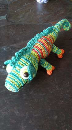 When the summer sun is beating down, Karma the chameleon loves nothing more than taking a rest on a cool leaf. And if she senses danger nearby, her multicoloured torso is ready to transform! Made up using the tangy shades in your Flash yarn kit and just four basic stitches, Janine Holmes' amigurumi critter is a brilliant project for getting to grips with colour changes and perfecting your technique. Best of all, the short stripes of her body lend themselves well to using up small scraps in…