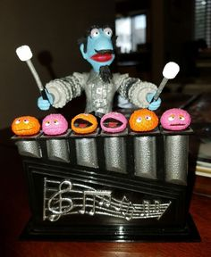 Jim Henson's Muppets MARVIN SUGGS Silver Variant Action Figure Palisades Loose #Palisades