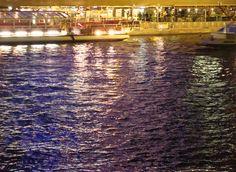 Beutiful blue light on the Seine