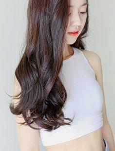 Korea fashion Wig shop [PINKAGE] Loose V-line four-piece Supreme yarn pump…